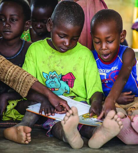 Il tuo contributo per l'educazione e l'istruzione dei bambini